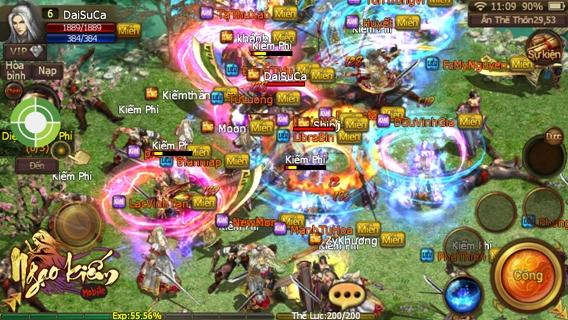 Ngạo Kiếm Mobile mang đến nhiều tính mới, hấp dẫn người chơi.