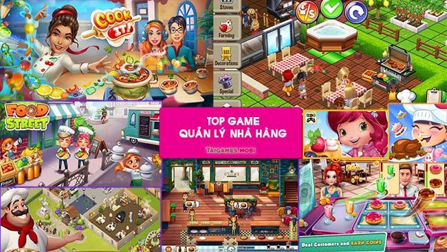 Game kinh doanh quản lý nhà hàng ăn uống vui vẻ
