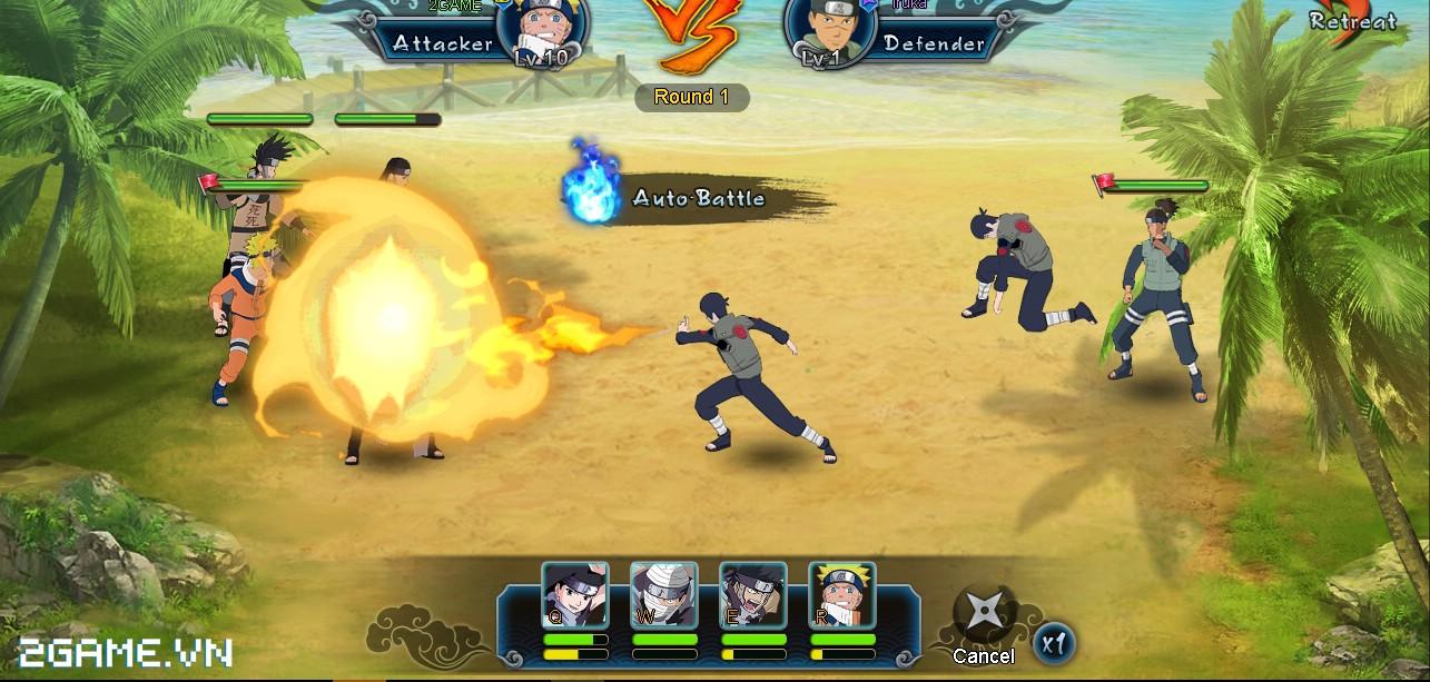 Chơi game Naruto truyền kỳ online tải về miễn phỉ game naruto hay nhất mọi thời đại