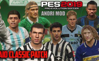 Patch PES 2019