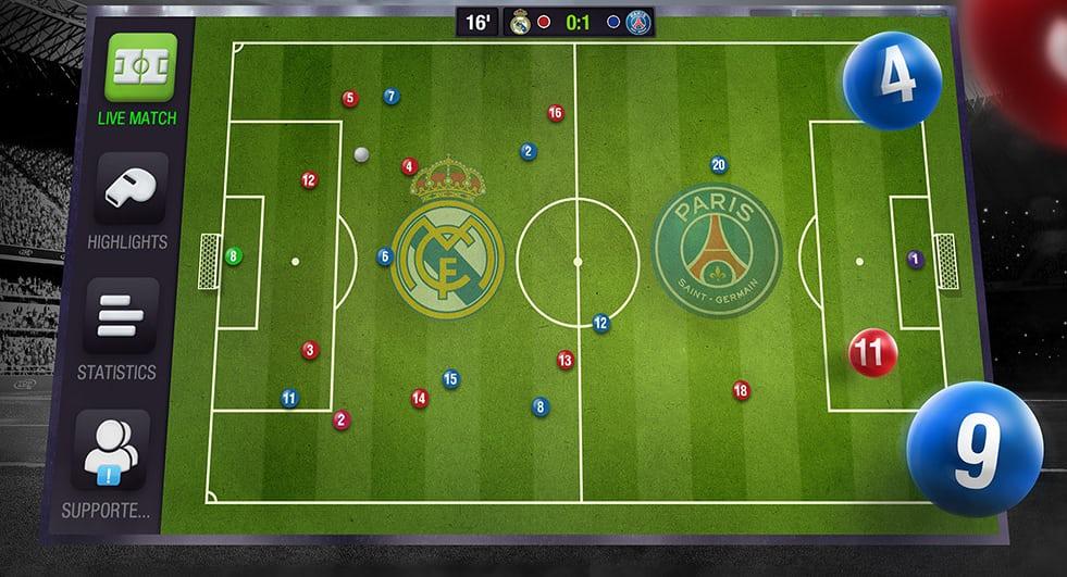 Game quản lý bóng đá